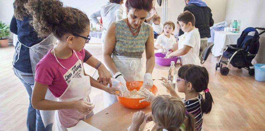 Fattoria Didattica per bambini: imparare a fare il pane
